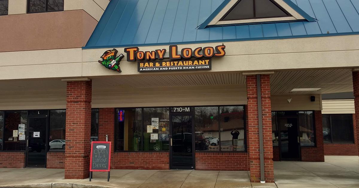 Puerto Rican & Italian Cuisine   Tony Locos Bar & Restaurant